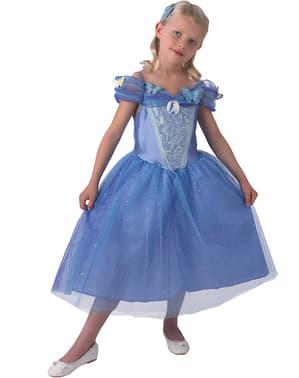 תלבושת סרט הסינדרלה עבור ילדה