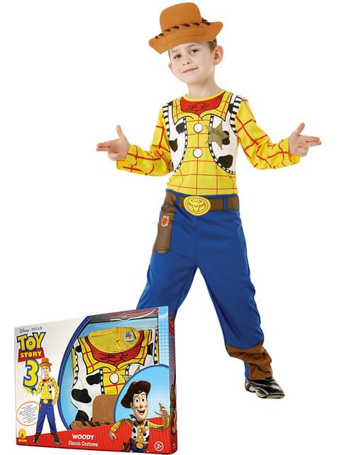 Woody Toy Story Kostuum voor jongens in een doos