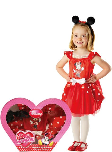 Minnie Mouse Ballerina Kostuum voor meisjes in een doos