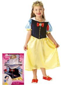 Kostuum Sneeuwwitje Classic voor meisjes in een doos