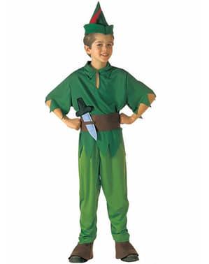 Costum Peter din Țara de Nicăieri pentru băiat
