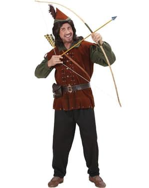 Robin av Sherwood kostyme til mann