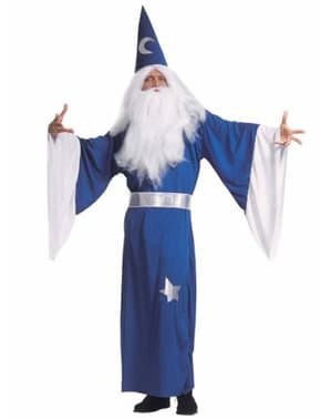 Troldmanden Merlin kostume til mænd