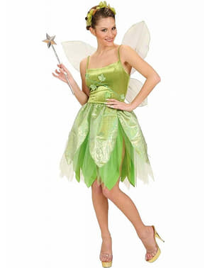 Neverland Tinkerbell costume for a woman