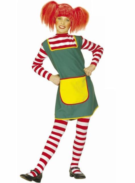 Dívčí kostým copatá zrzka