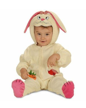Bunny costume with ears for a small child
