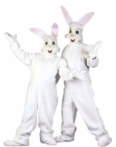 Bunny costume with ears for an adult