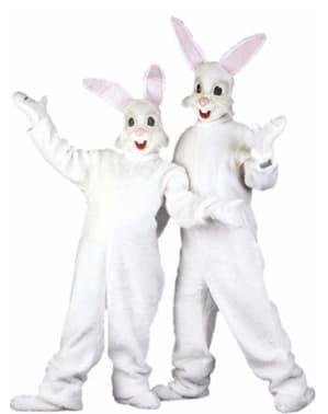 Costum de iepuraș cu urechi pentru adult