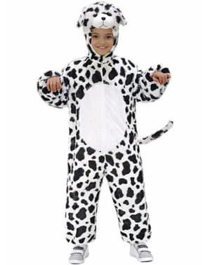 Plush Dalmation costume for Kids
