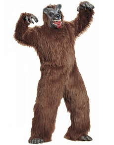 Disfraz de oso tenebroso de peluche para adulto