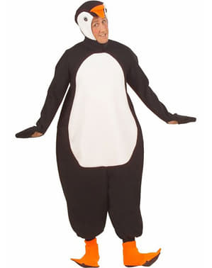 Arctic penguin costume for an adult