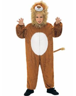 Costume da leone di peluche per bambini