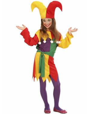 Hofnarr Kostüm für Mädchen