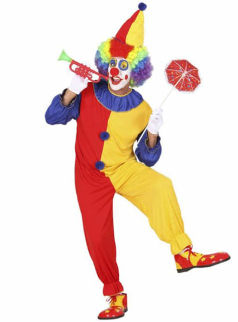 Костюм клоуна-вбивці