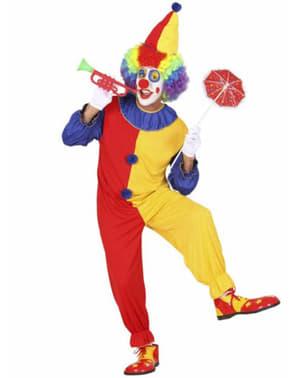 Clown Kostüm mehrfarbig