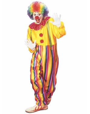 Circus clown costume for an adult