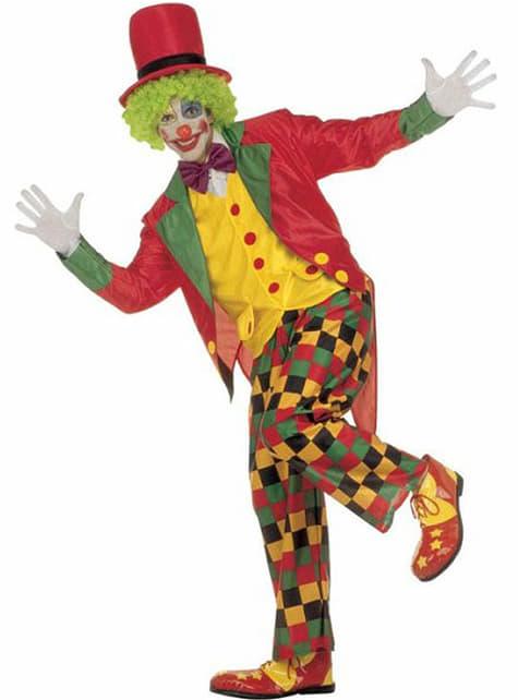 Elegante clown Kostuum voor volwassenen
