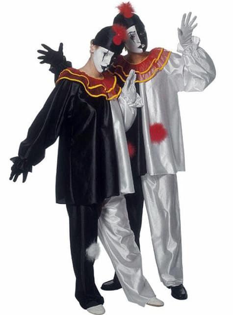 Mime κοστούμι κλόουν καλλιτέχνη για έναν ενήλικα