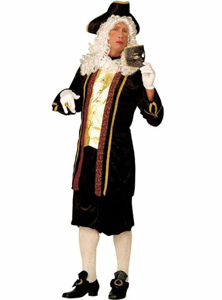 Venetian Aristocrat Costume For A Man Express Delivery