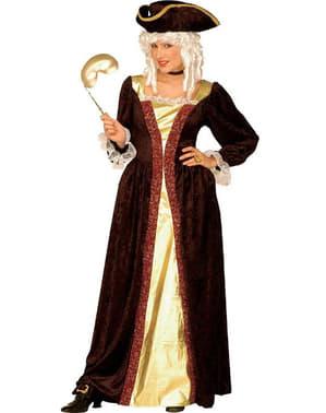 Venetiansk Dame Kostume
