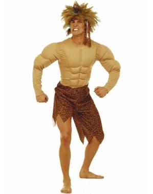 Dschungelmensch Kostüm für Herren