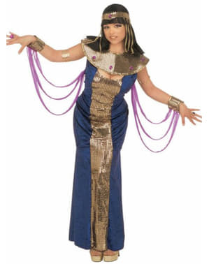 Nerfertiti goddess costume for a woman