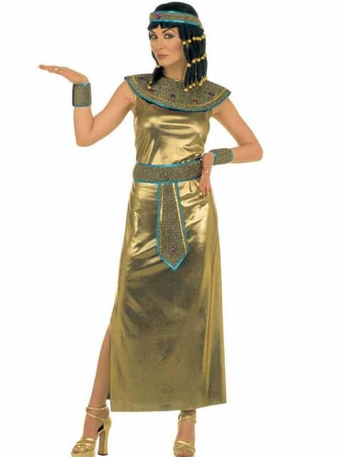 Cleopatra αυτοκράτειρα κοστούμι για μια γυναίκα