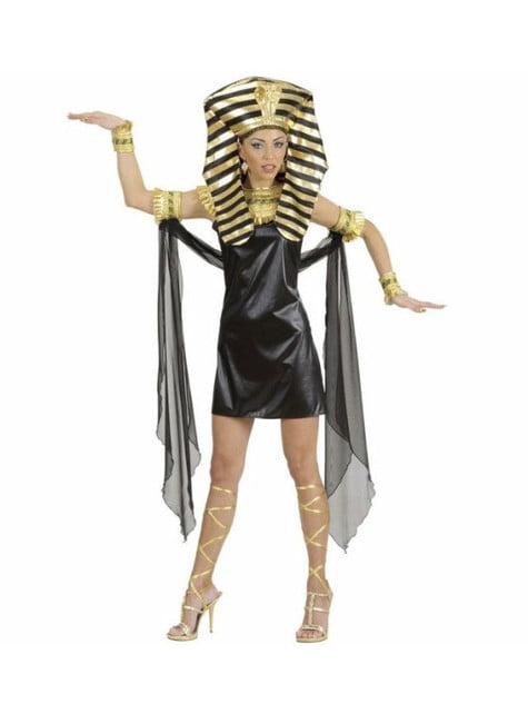 Fato de Cleópatra do Antigo Egito para mulher