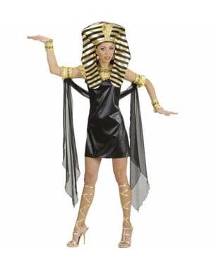 Cleopatra från antigua Egypten kvinnodräkt