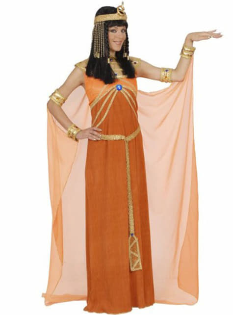 Disfraz de faraona egipcia para mujer