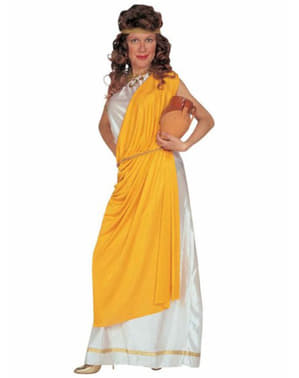 Roman costume with toga for a woman