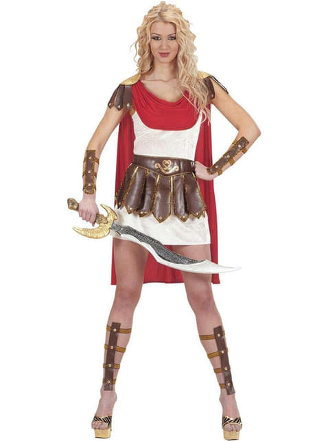 Roman warrior costume for a woman