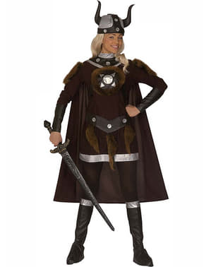Viking warrior costume for a woman