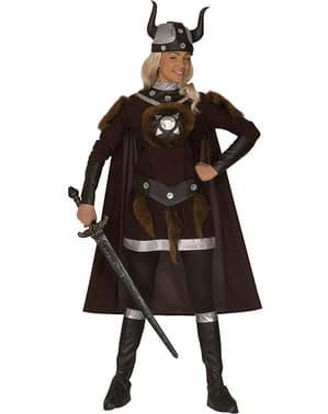 Vikingakrigare kvinnodräkt