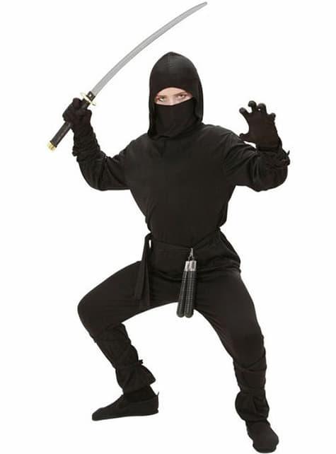 Kostým ninja bojovníka pre dieťa