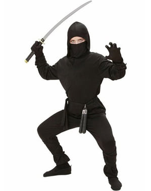 Costum războinic ninja pentru băiat