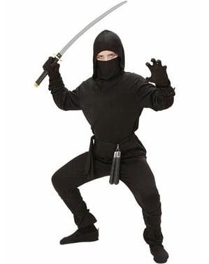 Fato de guerreiro ninja para menino