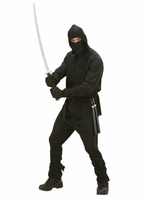 תחפושת לוחם נינג'ה עבור גבר