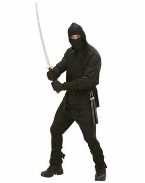 Ninja Kriger Kostyme for mann
