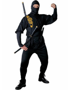 Dragon ninja costume for a man