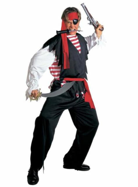 Pirat rauer See Kostüm für Herren