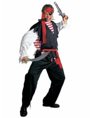 Costum de pirat de ape tulburi pentru bărbat