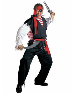 男のための大まかな海賊衣装