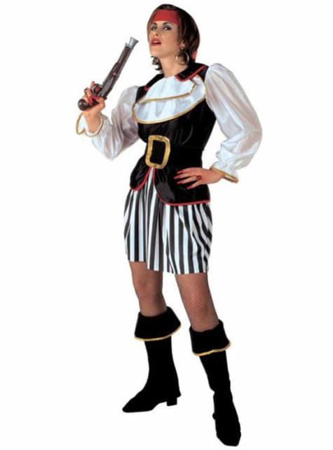 Disfraz de corsaria saqueadora para mujer