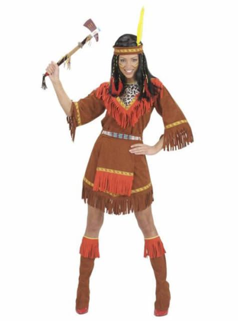 Шайенский индийский костюм для женщины