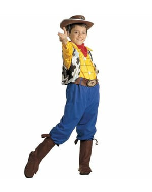 Woody cowboy costume for a child