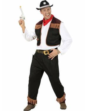 Fato de cowboy western para homem
