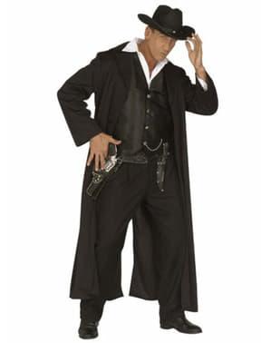 West gun slinger costume for a man
