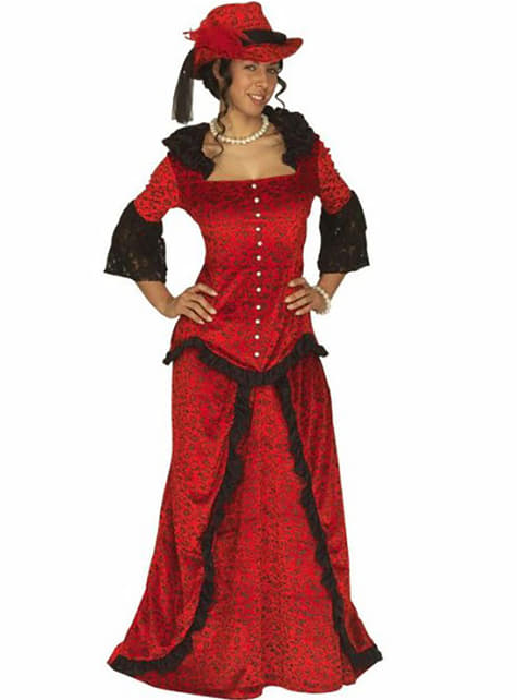 Westerse dame Kostuum voor vrouw
