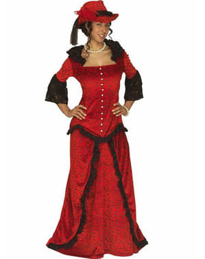 Western lady costume for a woman